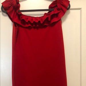 Knit-fitted midi dress